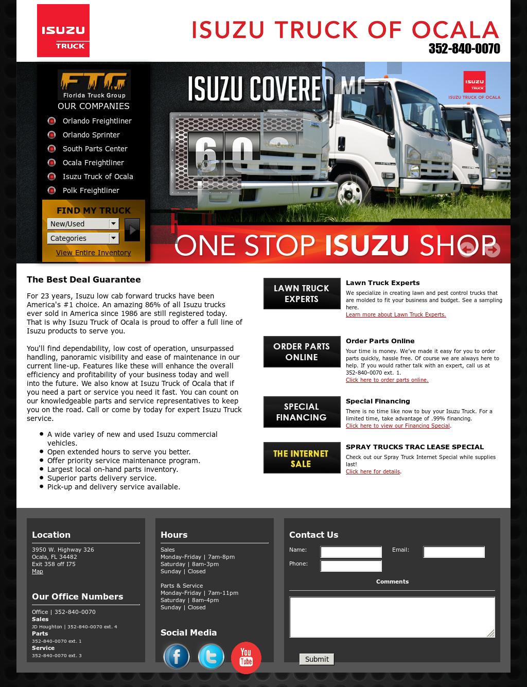 Isuzutruckofocala Competitors, Revenue and Employees - Owler