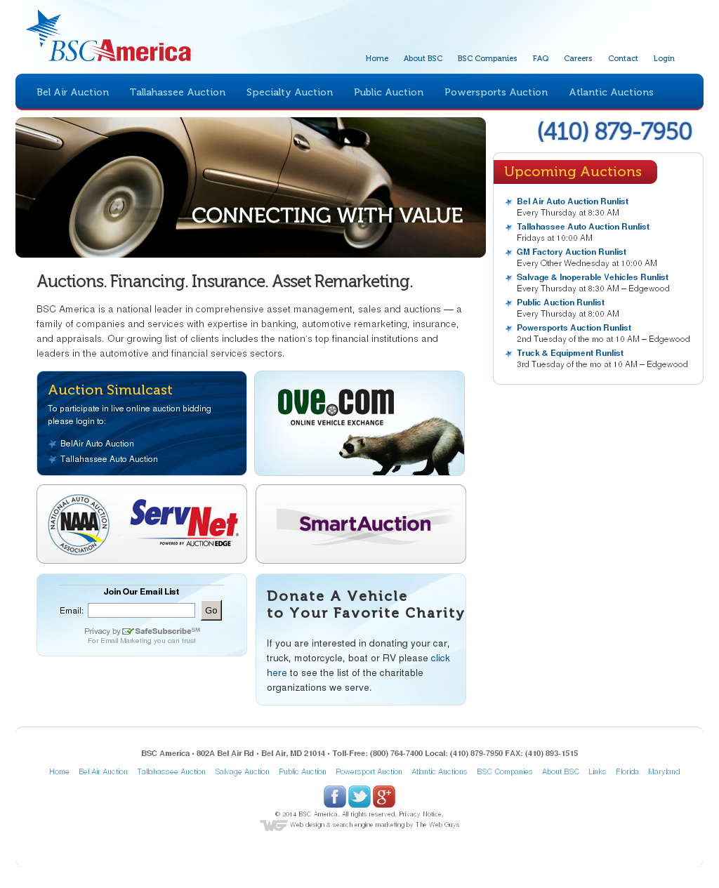 Belair Auto Auction >> Bsc America Competitors Revenue And Employees Owler Company Profile