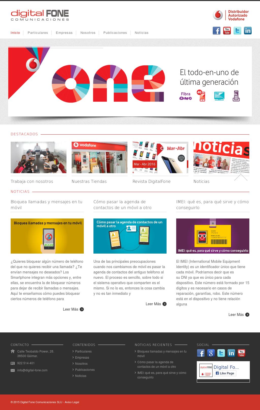 Digital Fone Comunicaciones Competitors, Revenue and