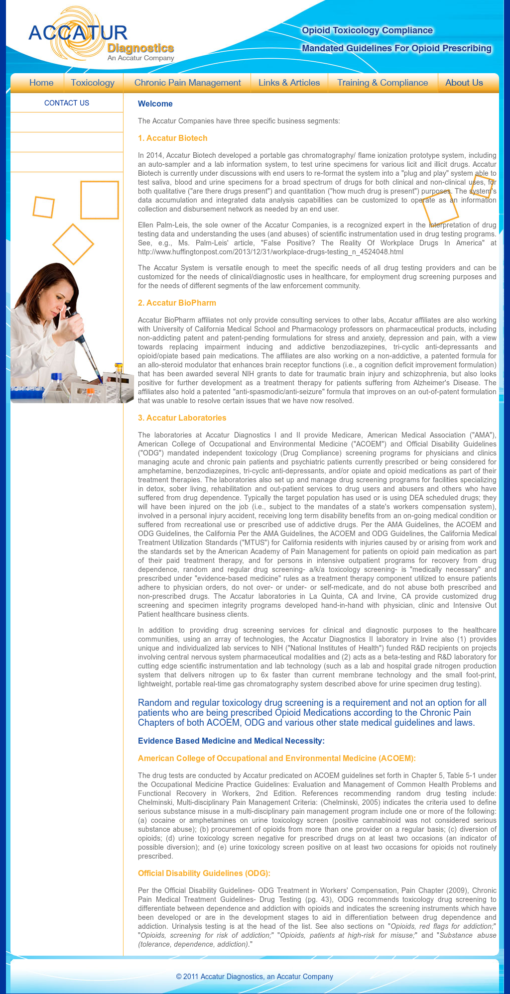 Accatur Diagnostics, An Accatur Company Competitors, Revenue