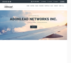 Adonlead Networks website history