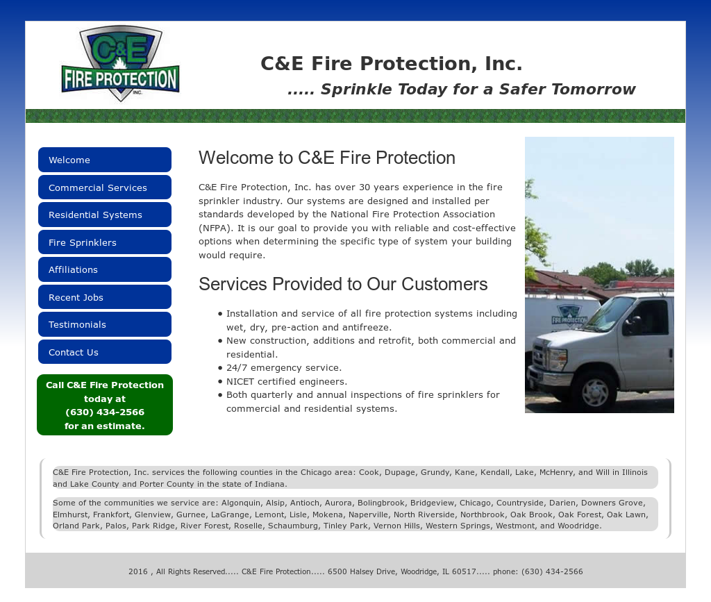 C & E Fire Protection Competitors, Revenue and Employees