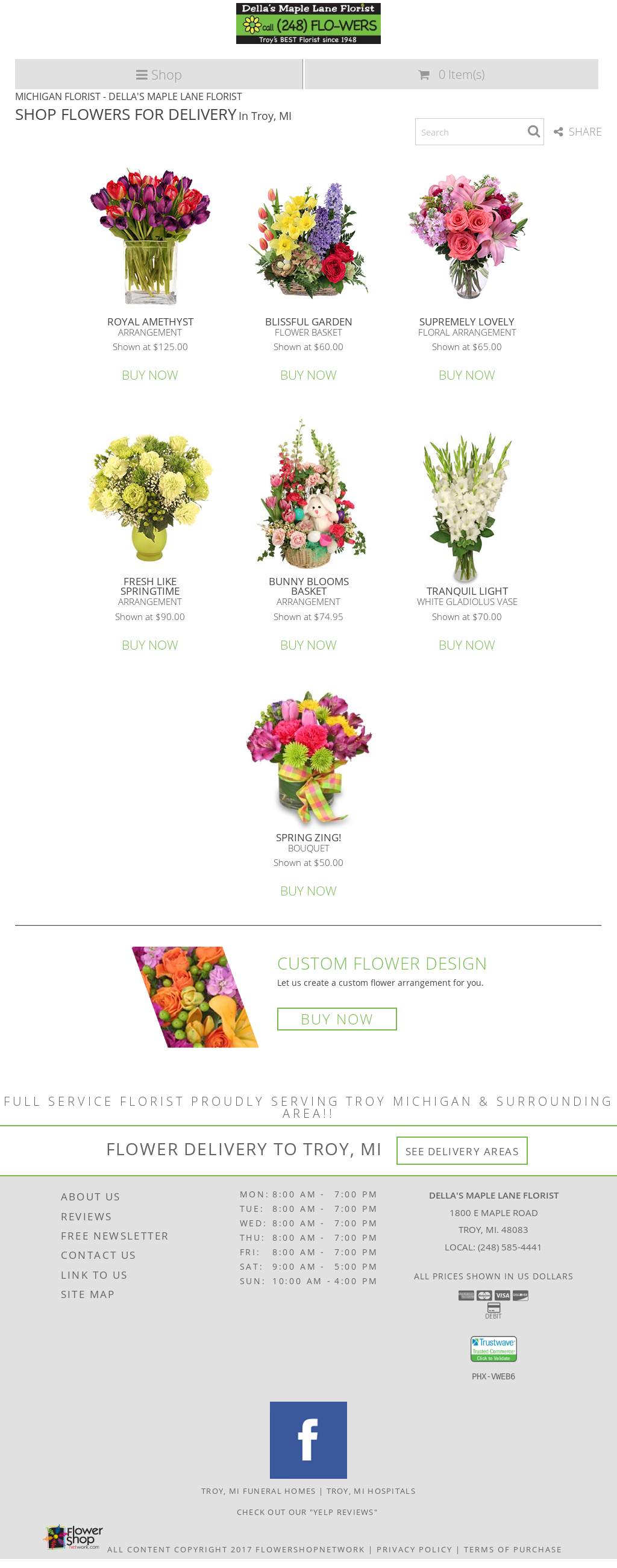 dellas maple lane florist competitors, revenue and employees - owler