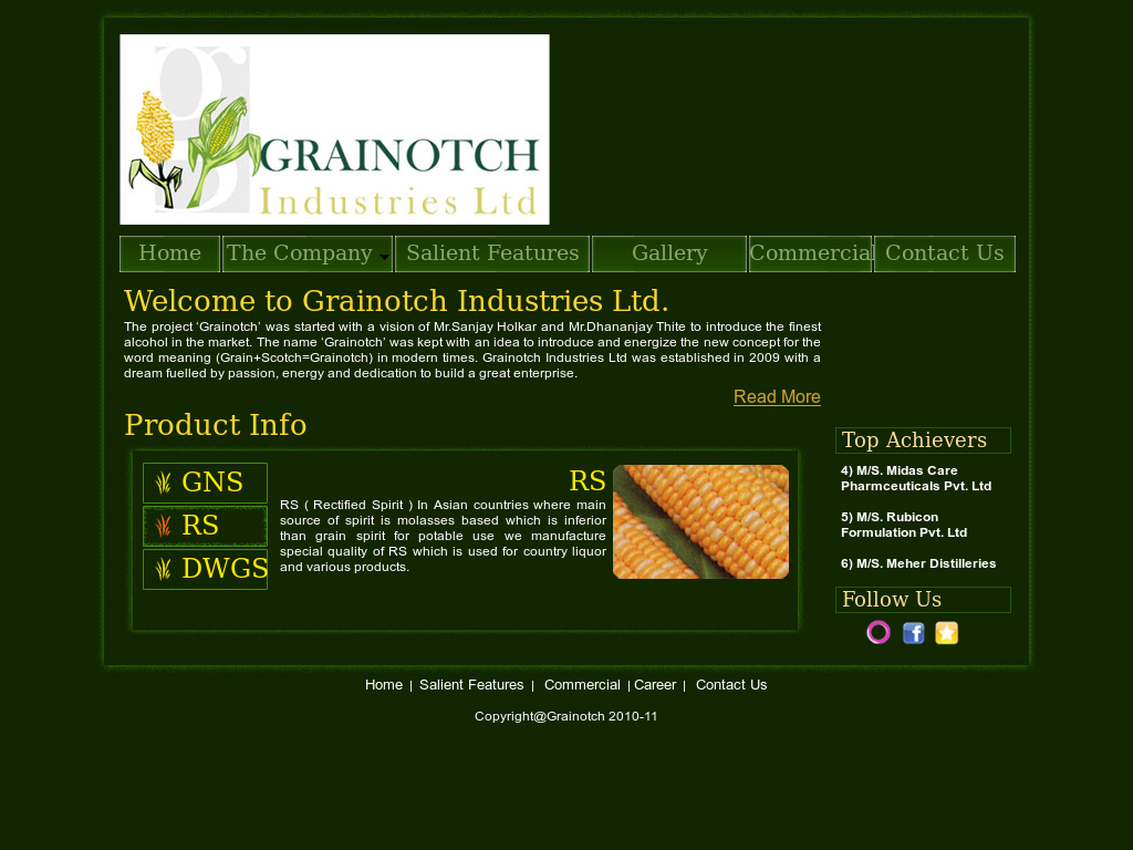Grainotch Industries Competitors, Revenue and Employees - Owler