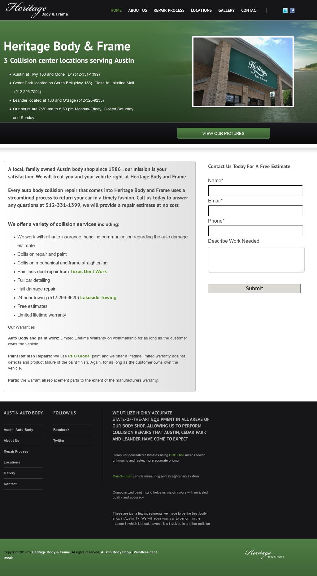 Heritagebodyandframe Competitors, Revenue and Employees - Owler ...