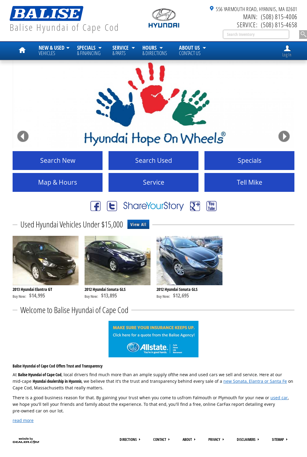 Balise Hyundai Of Cape Cod Competitors, Revenue And Employees   Owler  Company Profile