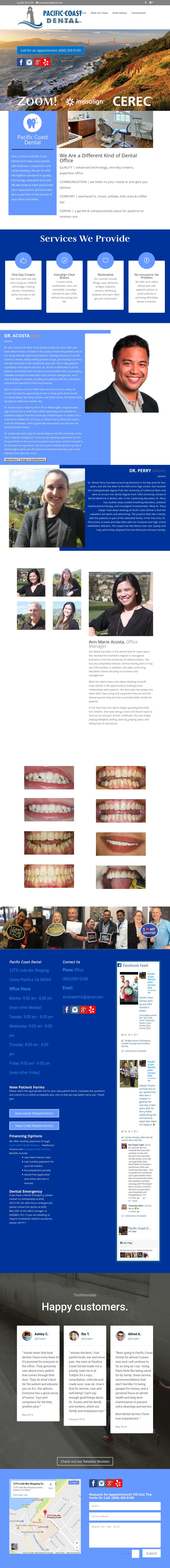 Pacific Coast Dental, John Acosta Dds Competitors, Revenue