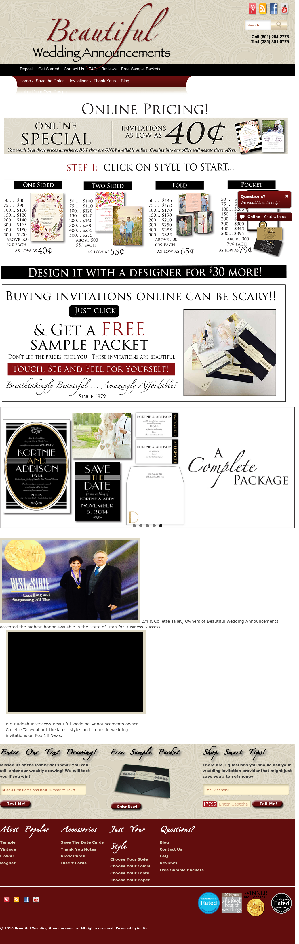 Beautiful Wedding Announcements.Beautiful Wedding Announcements Competitors Revenue And Employees