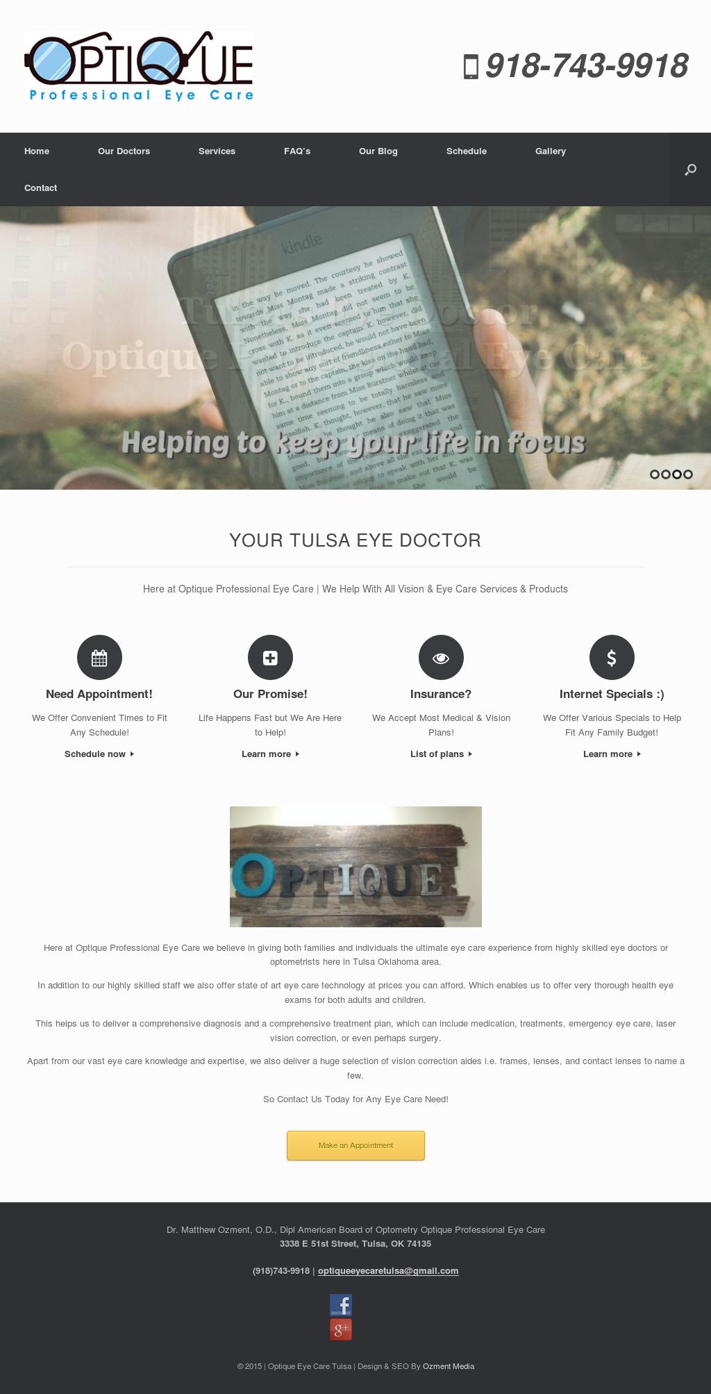 Optique Professional Eye Care, Pllc Competitors, Revenue and ...