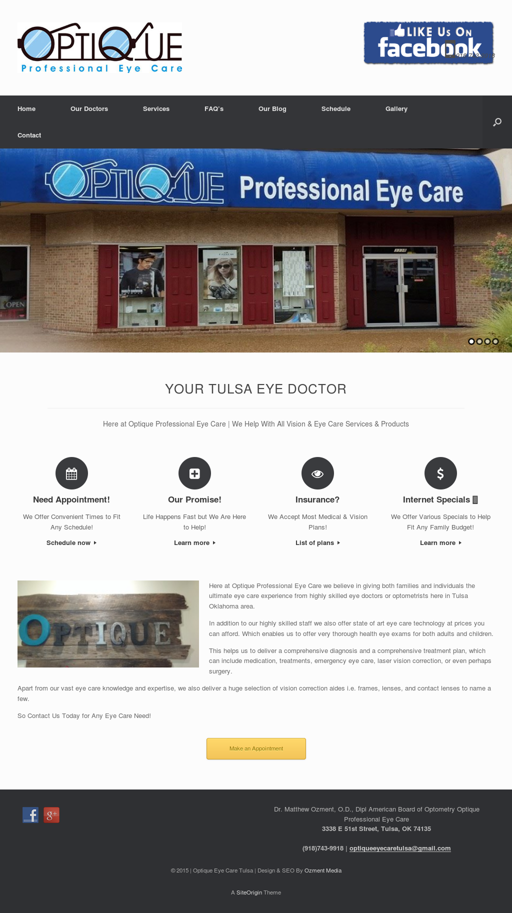 Optique Professional Eye Care, Pllc Competitors, Revenue and ...