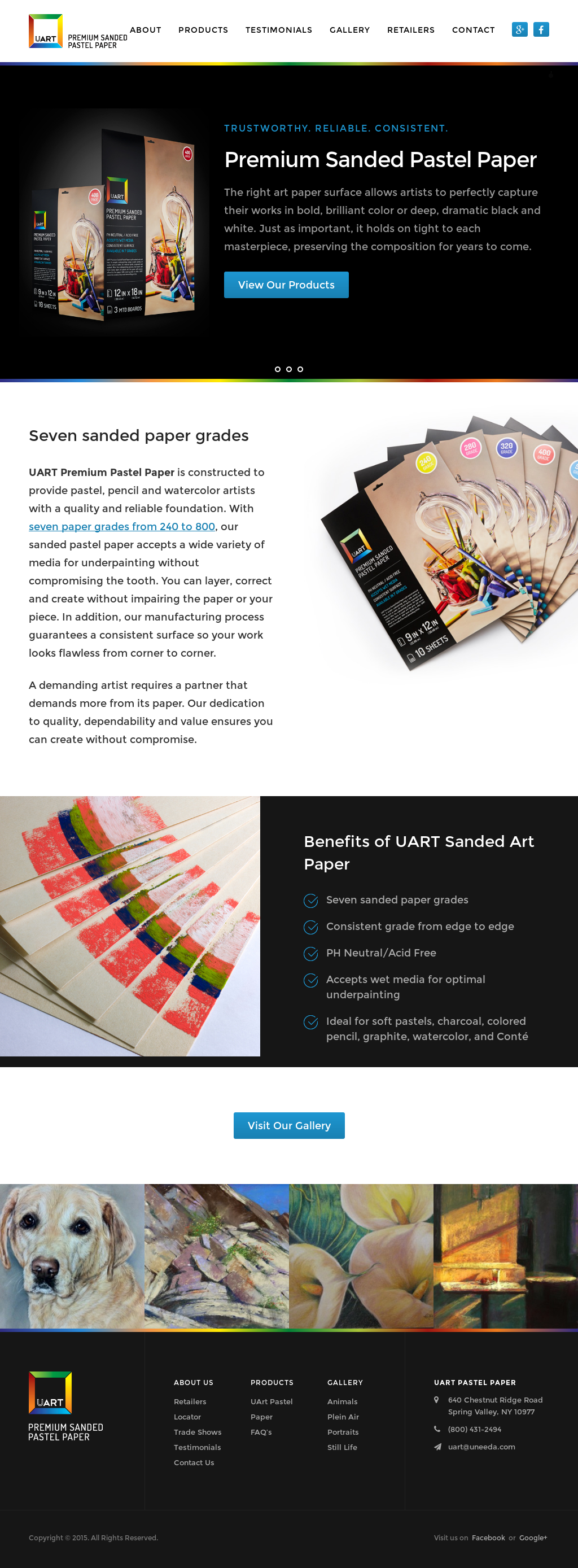 uart sanded pastel paper competitors revenue and employees owler