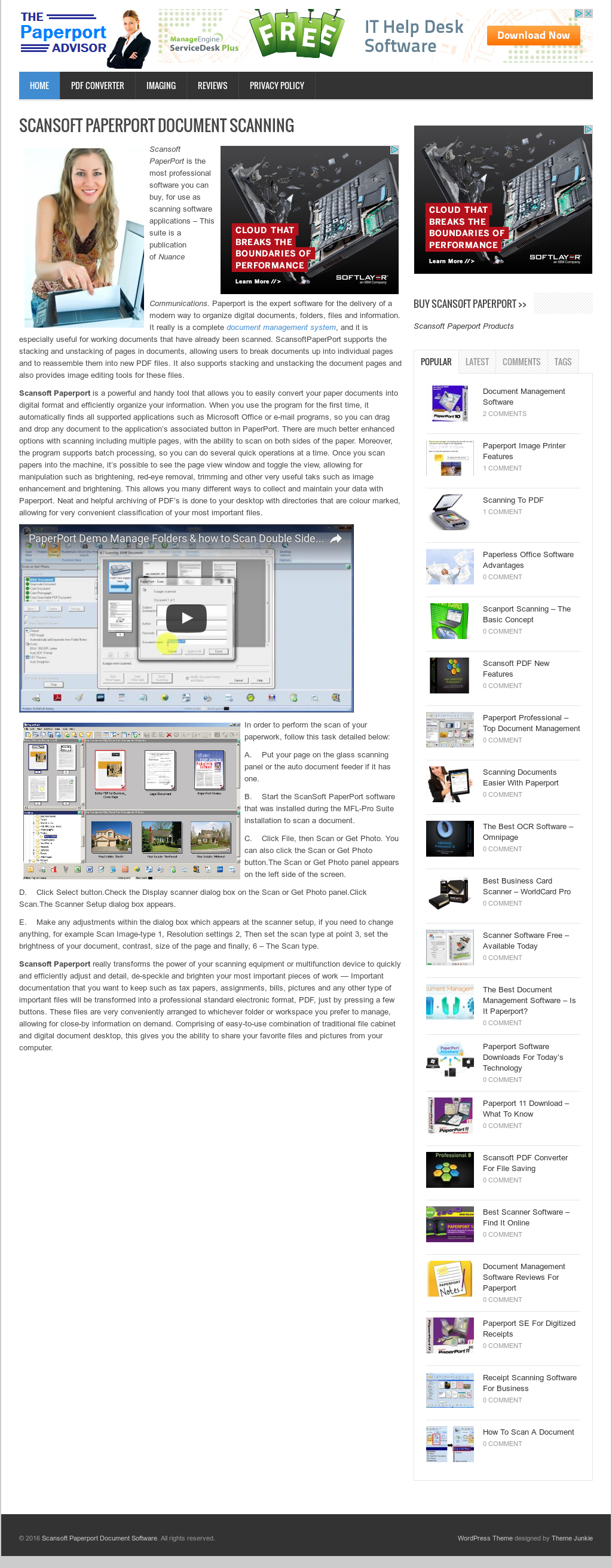 Scansoft Paperport Document Software Competitors, Revenue and