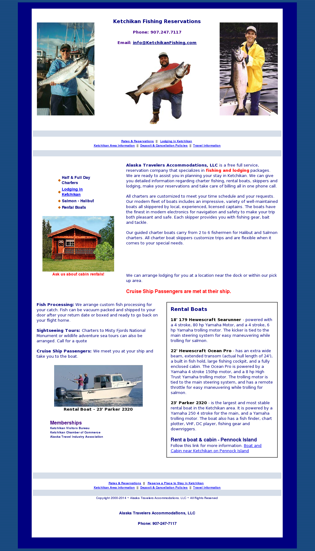 Ketchikan Fishing Reservations Competitors, Revenue and