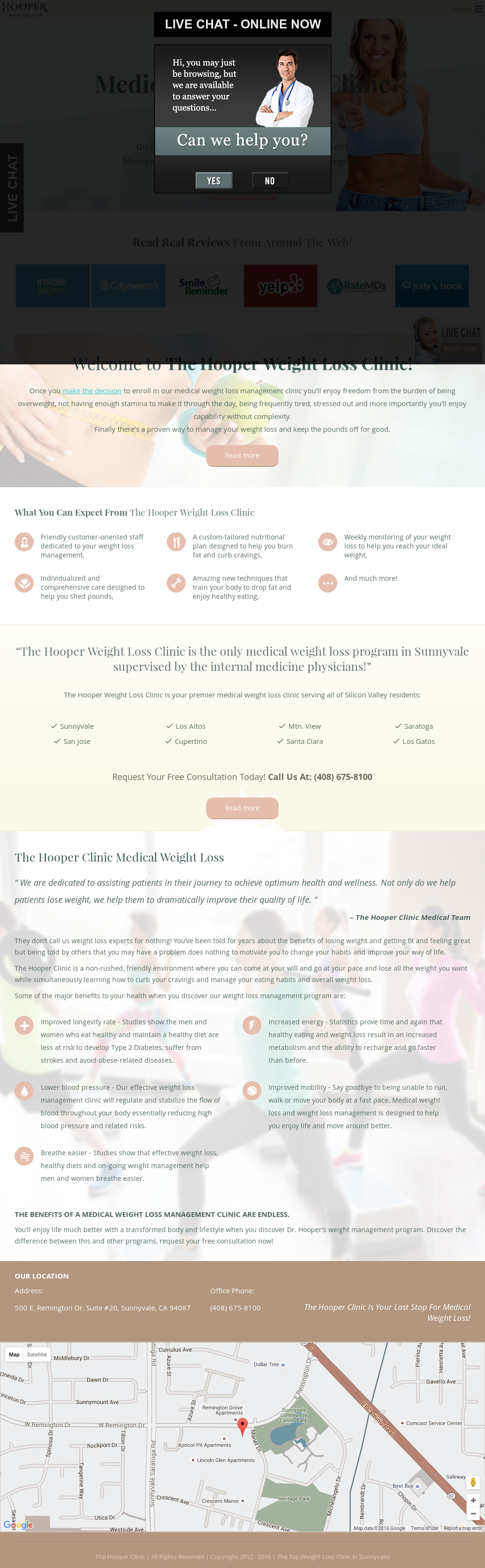 Weight loss programs sunnyvale ca