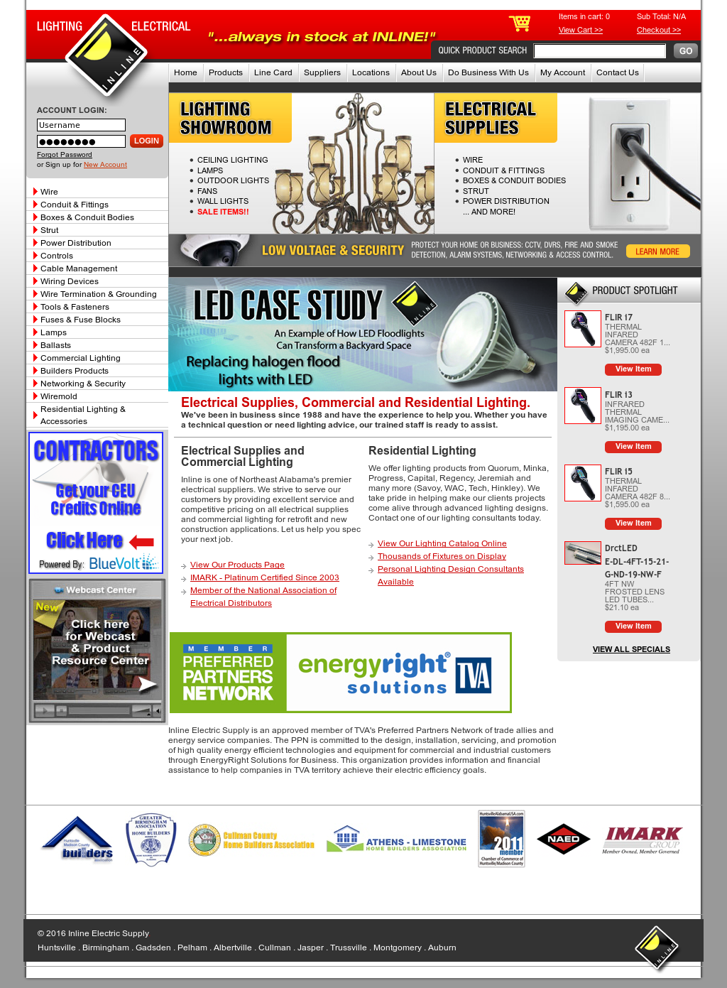 Inline Electric Compeors Revenue And Employees Owler Company Profile