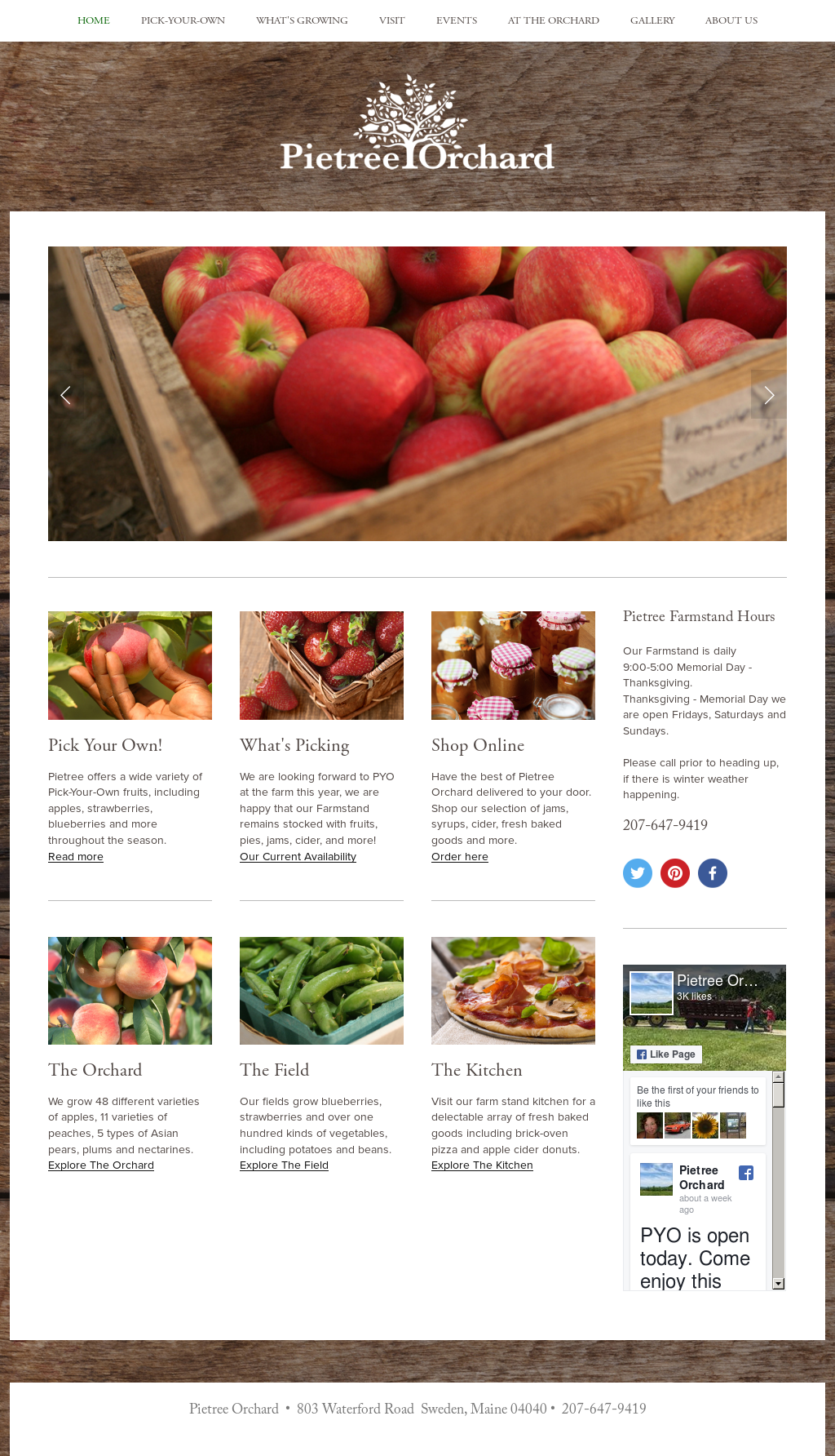 Pietree Orchard Competitors, Revenue and Employees - Owler