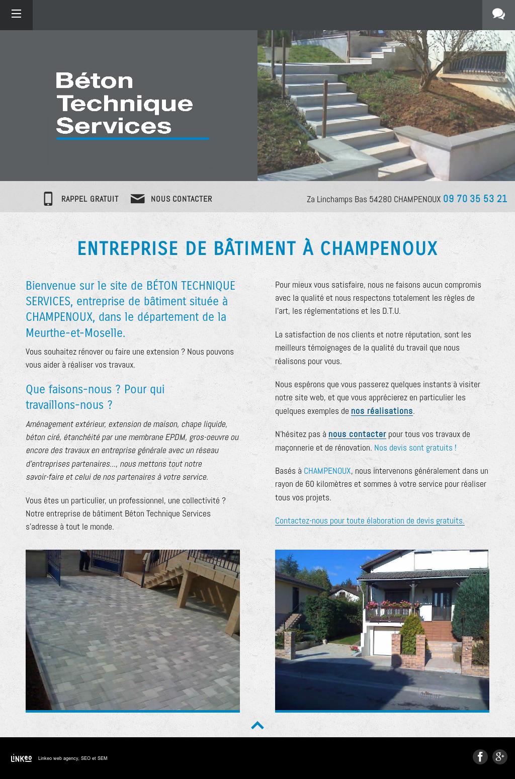 Entreprise Amenagement Exterieur Moselle beton technique services competitors, revenue and employees