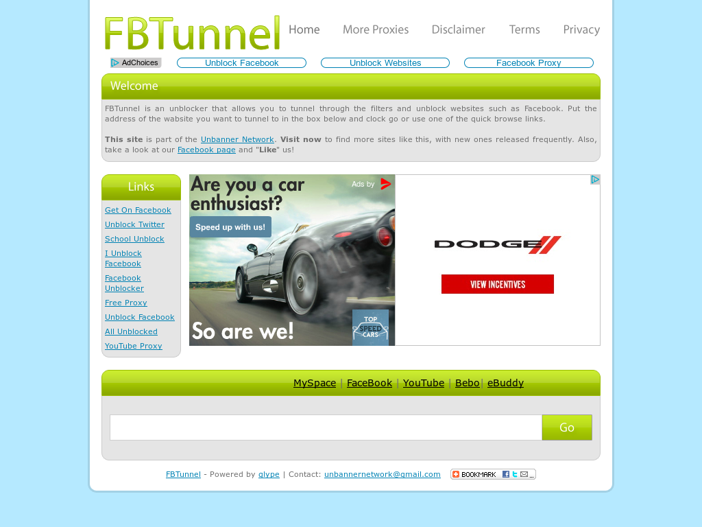 Fbtunnel Competitors, Revenue and Employees - Owler Company