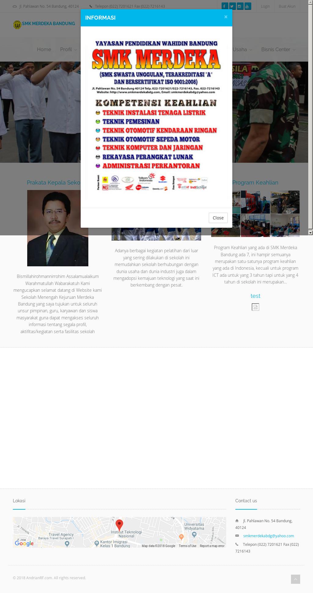Smk merdeka bandung competitors revenue and employees owler smk merdeka bandung website history ccuart Image collections