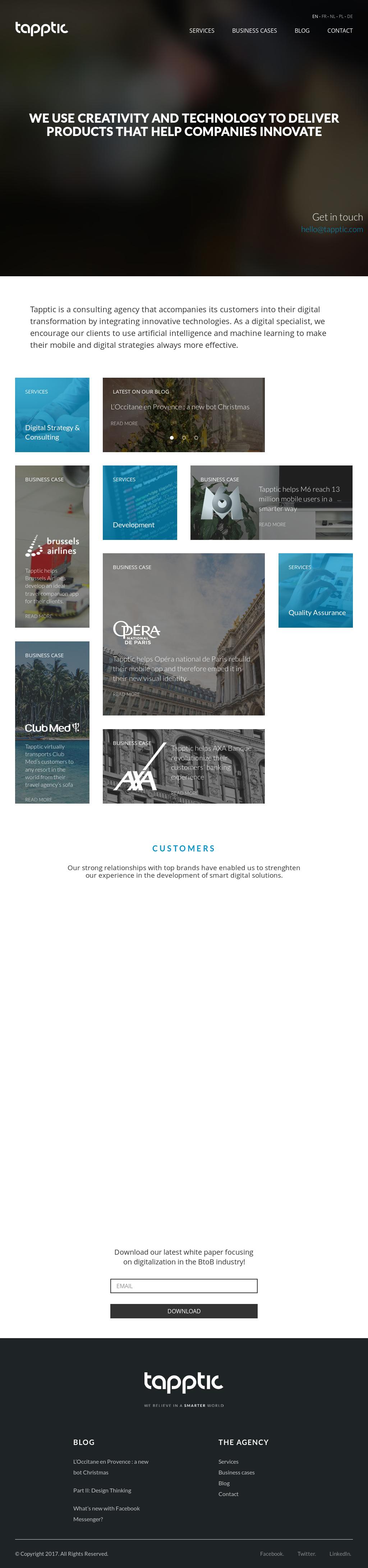 Code De La Sécurité Routière >> Tapptic Competitors Revenue And Employees Owler Company