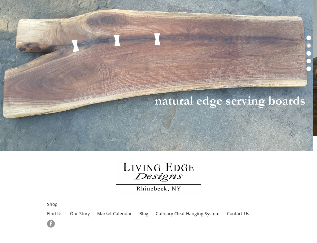 Living Edge Designs Website History