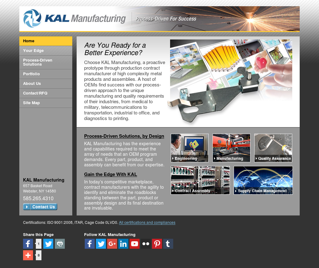 KAL Manufacturing Competitors, Revenue and Employees - Owler
