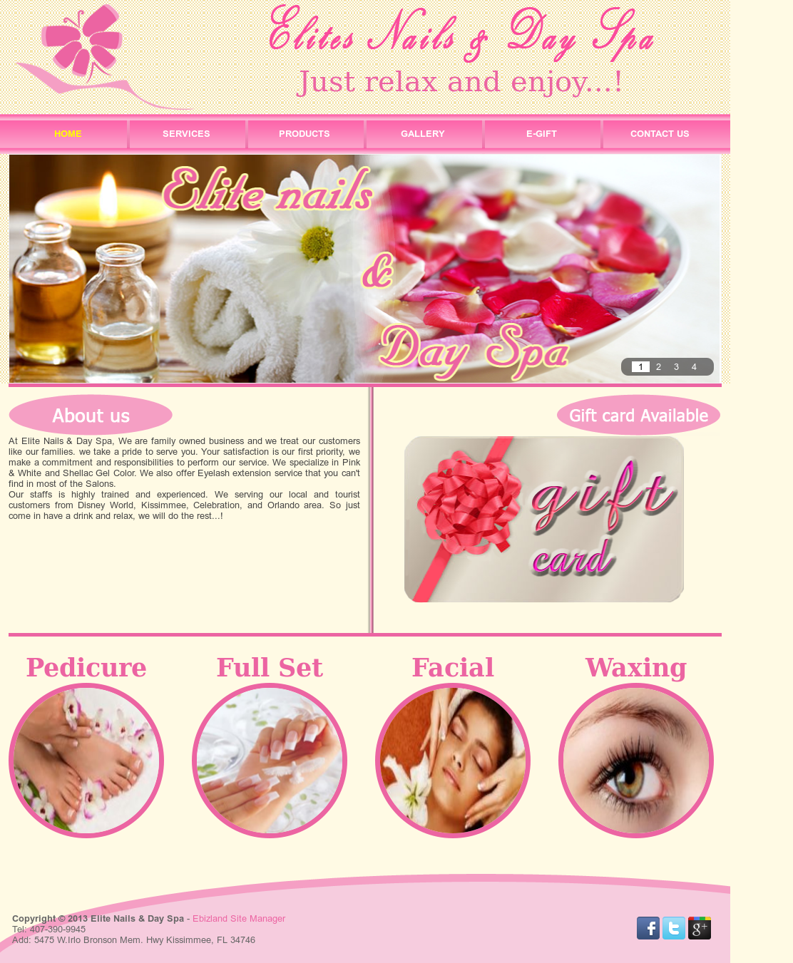 Elite Nails & Day Spa Competitors, Revenue and Employees - Owler ...