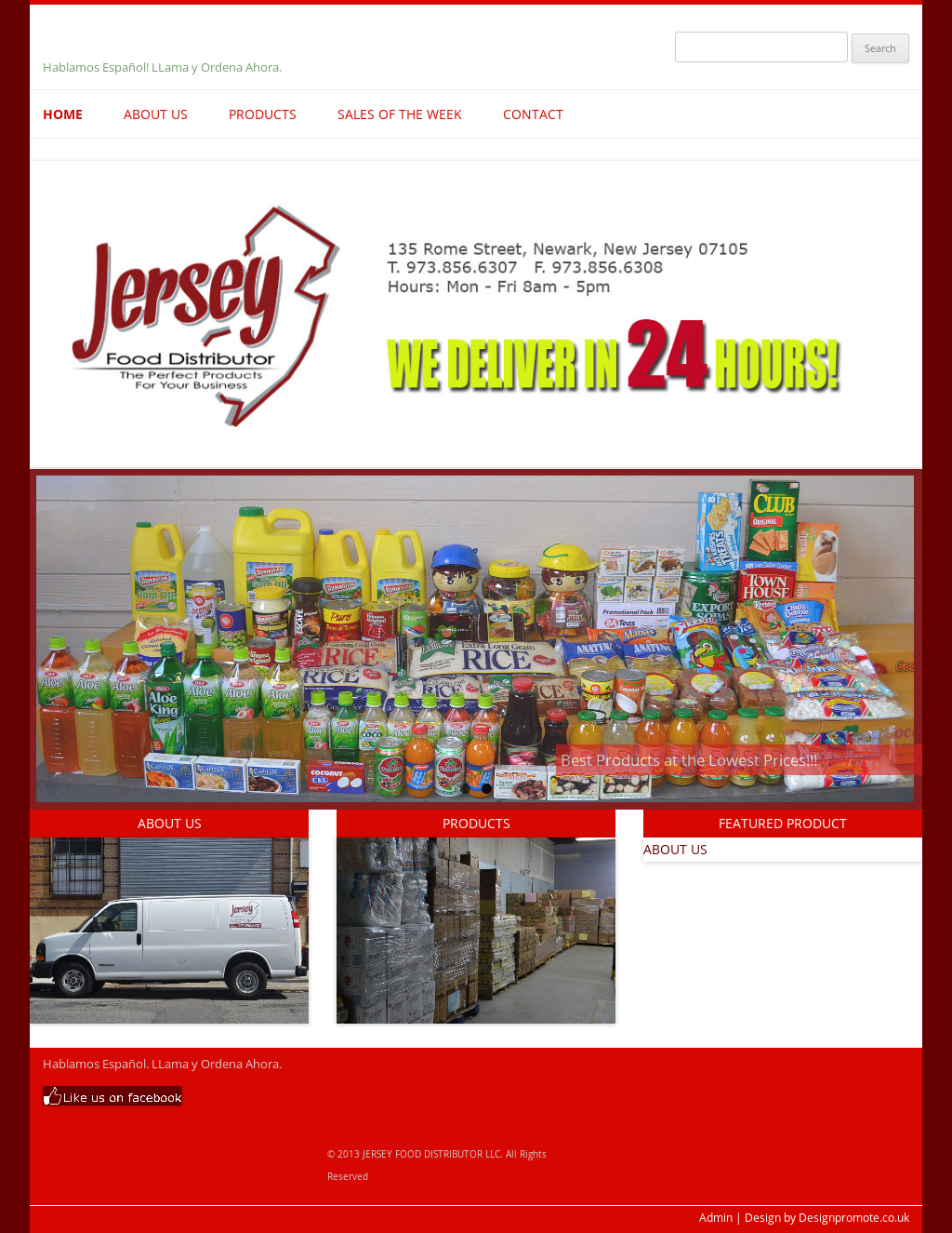 Jersey Food Distributor Competitors, Revenue and Employees