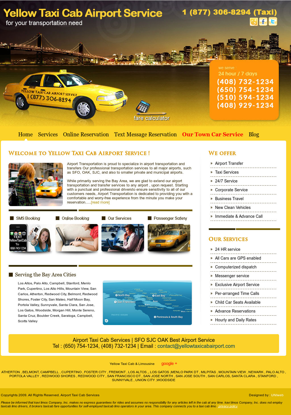 Yellow Taxi Cab Airport Competitors, Revenue and Employees