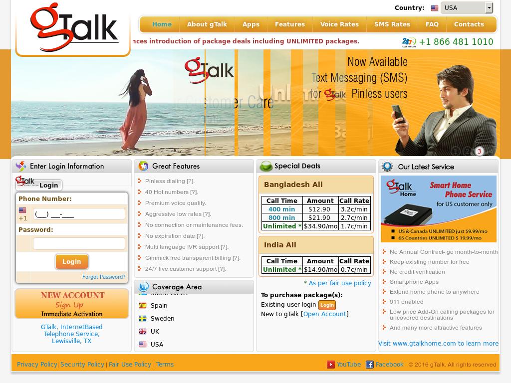 Gtalk Competitors, Revenue and Employees - Owler Company Profile