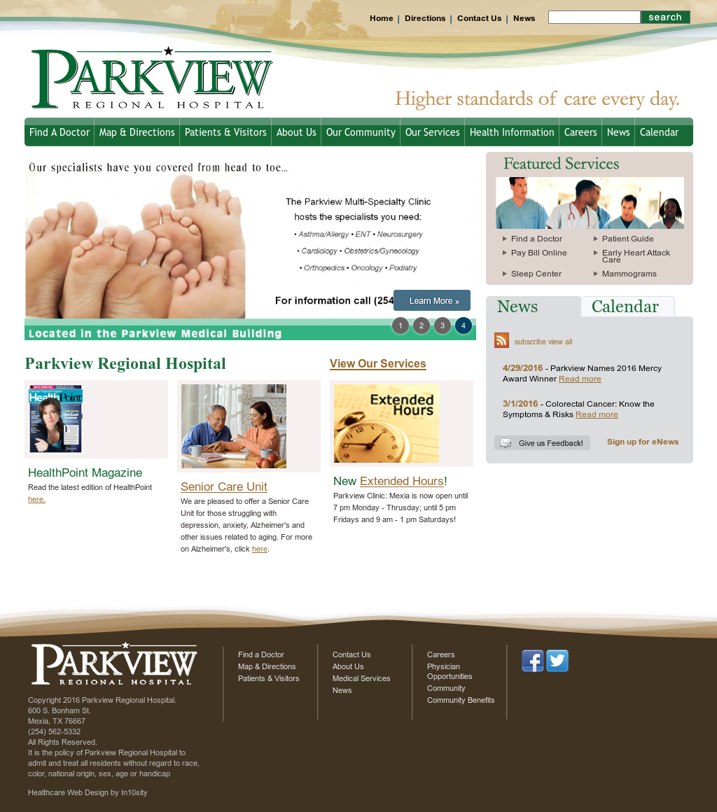 Parkview Regional Hospital Competitors Revenue And Employees