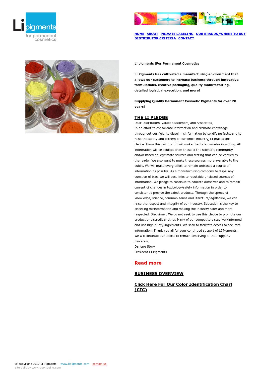 Li Pigments Competitors Revenue And Employees Owler Company Profile