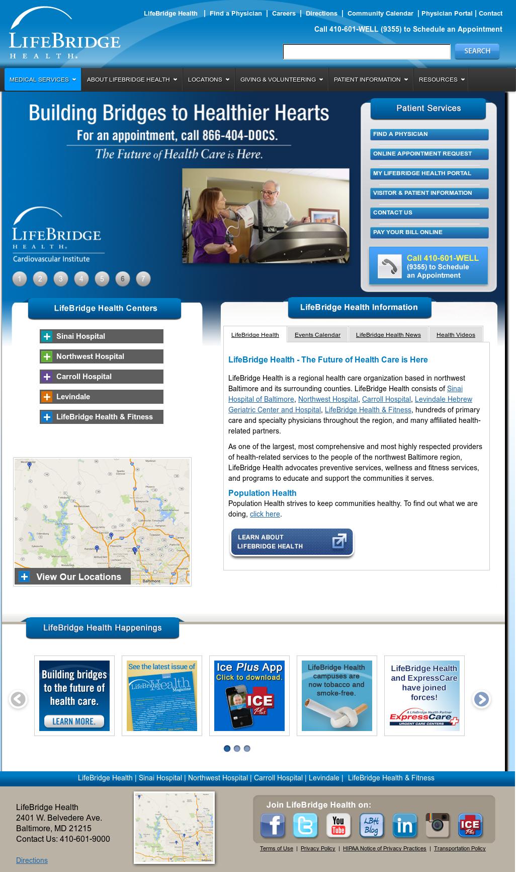 LifeBridge Health Competitors, Revenue and Employees - Owler