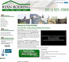 Ryan Roofing Website History