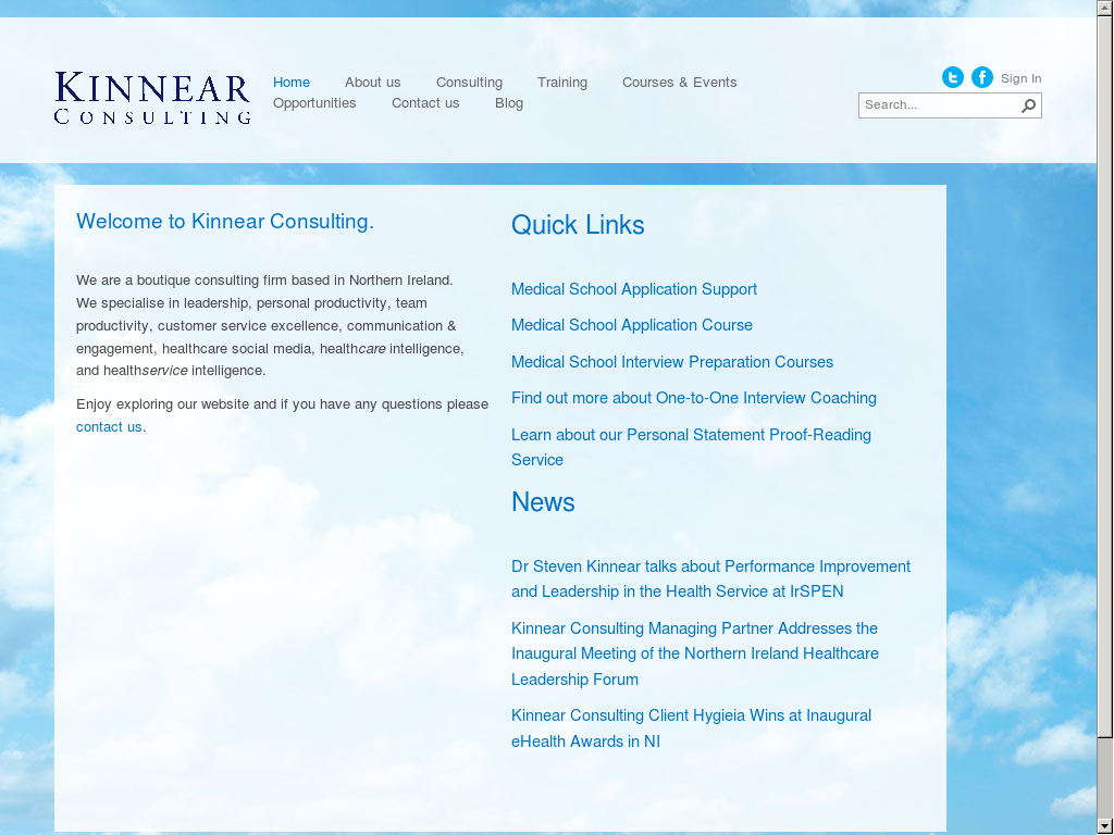 Kinnear Consulting Competitors, Revenue and Employees
