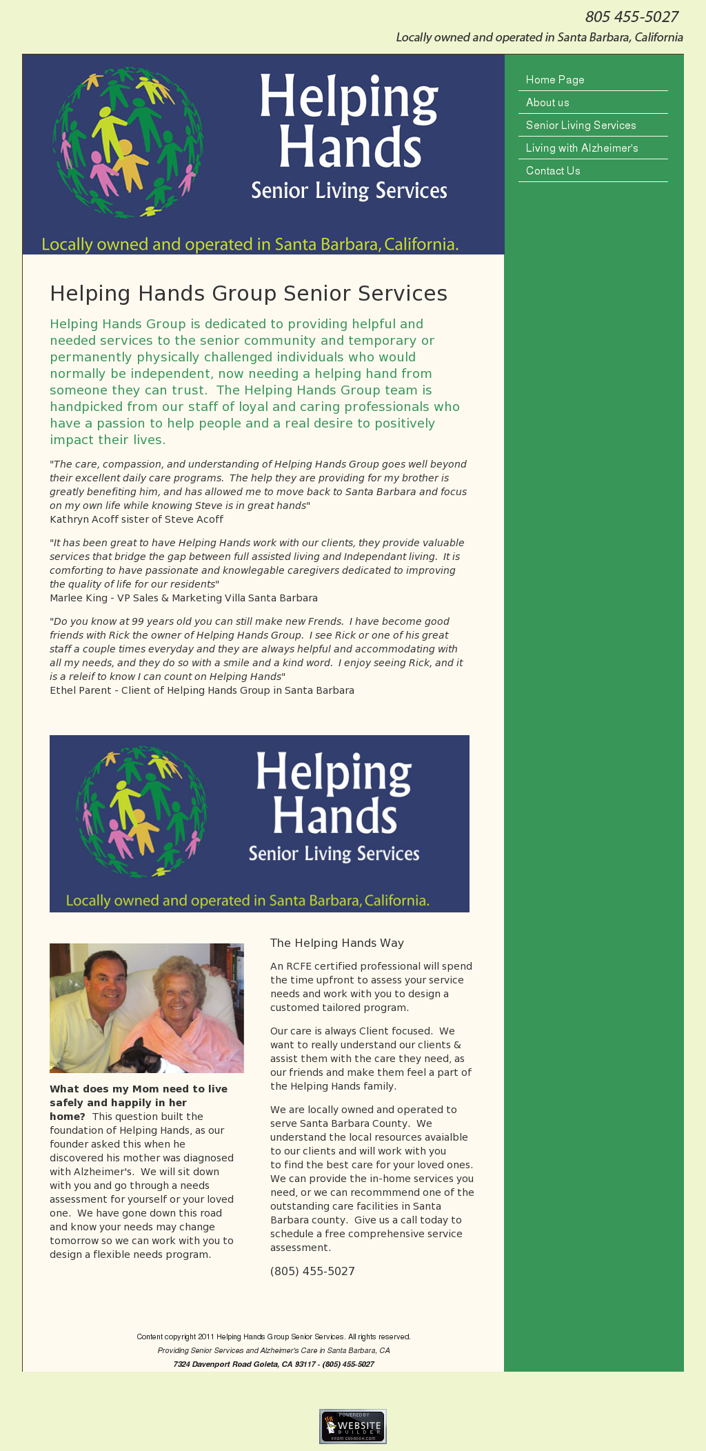 Helping Hands Group Senior Services Competitors Revenue And