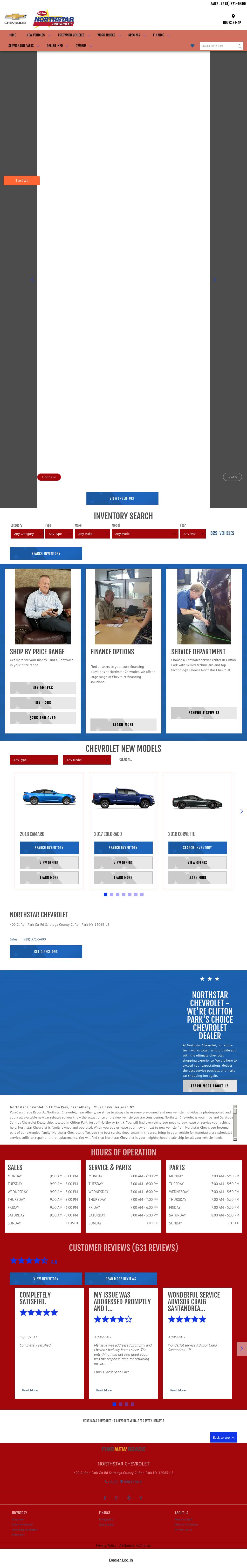 Northstar Chevrolet Website History