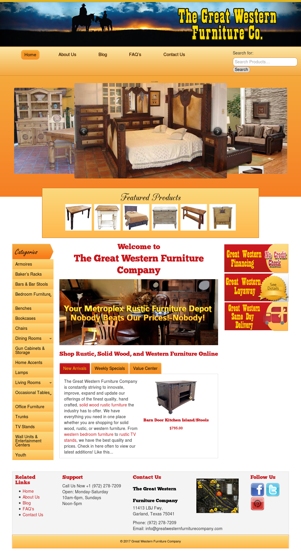 Great Western Furniture Company Compeors Revenue And Employees Owler Profile