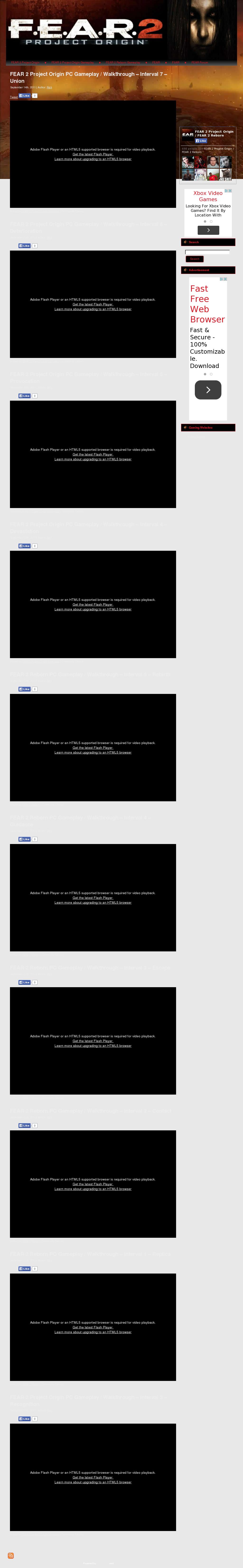 Fear 2 Project Origin / Fear 2 Reborn Competitors, Revenue