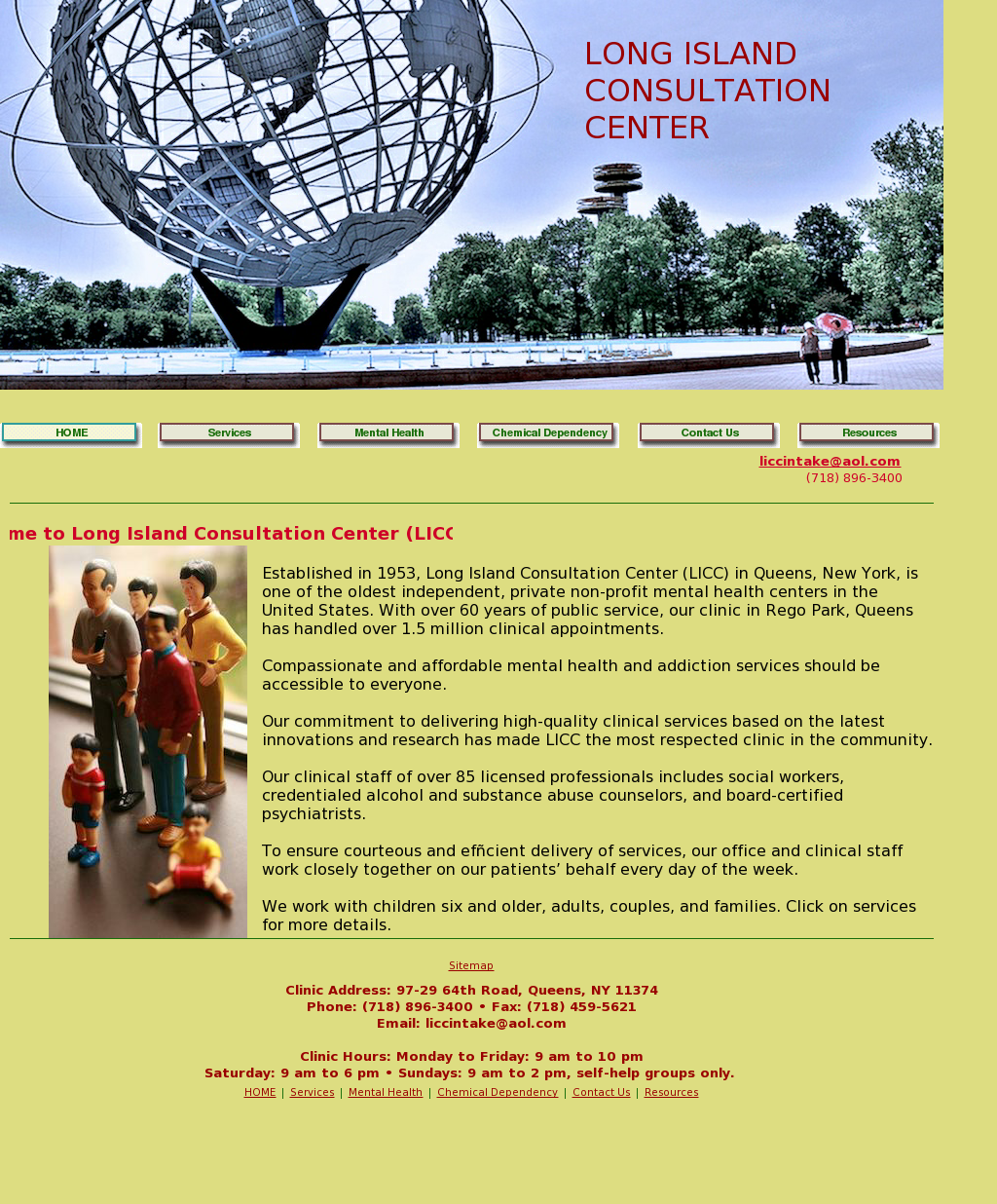 Long Island Consultation Center Competitors, Revenue and