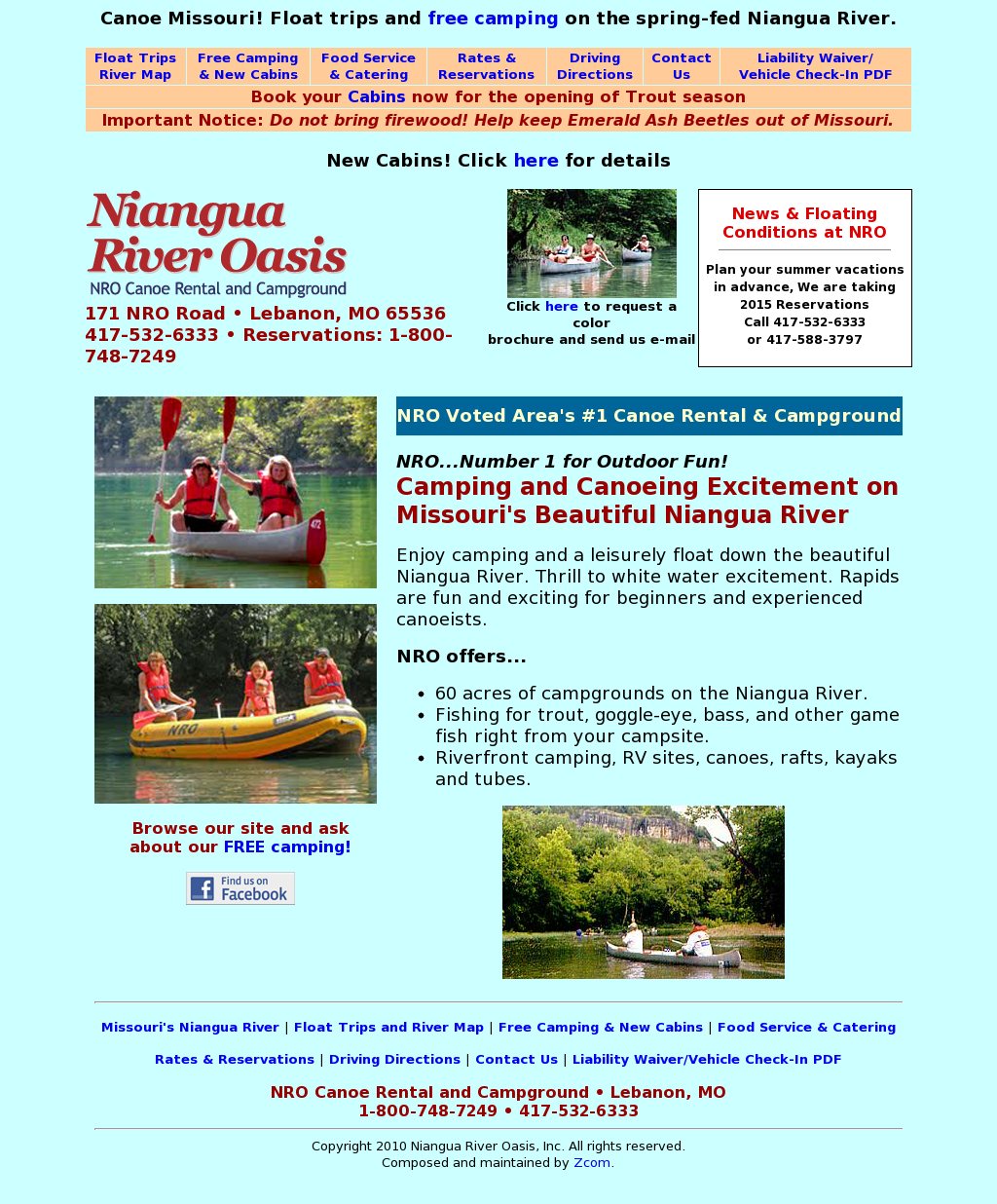 Niangua River Oasis Competitors Revenue And Employees
