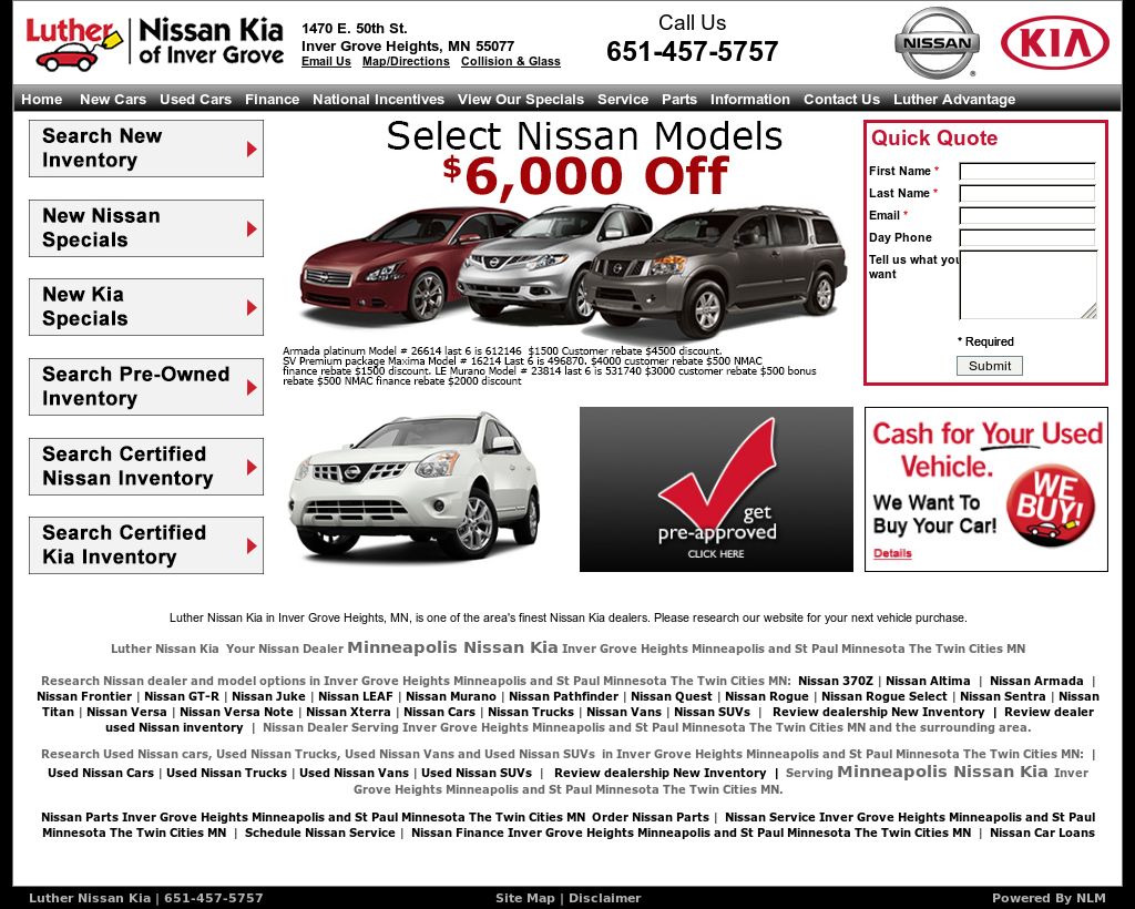 Luther Nissan And KIA Competitors, Revenue And Employees   Owler Company  Profile