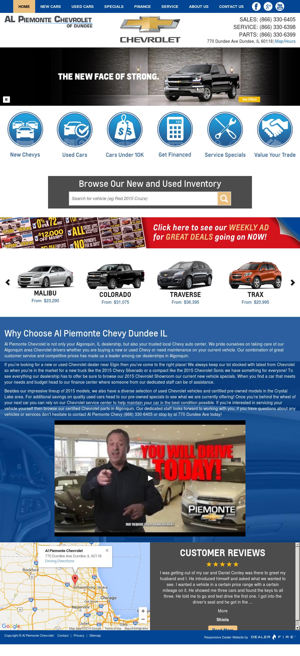 Al Piemonte Chevy petitors Revenue and Employees Owler pany