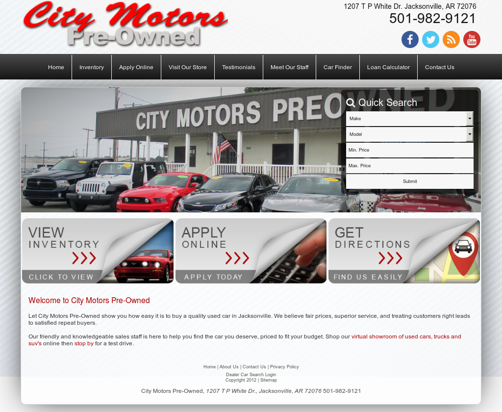 City Motors Jacksonville Ar >> City Motors Pre Owned Competitors Revenue And Employees