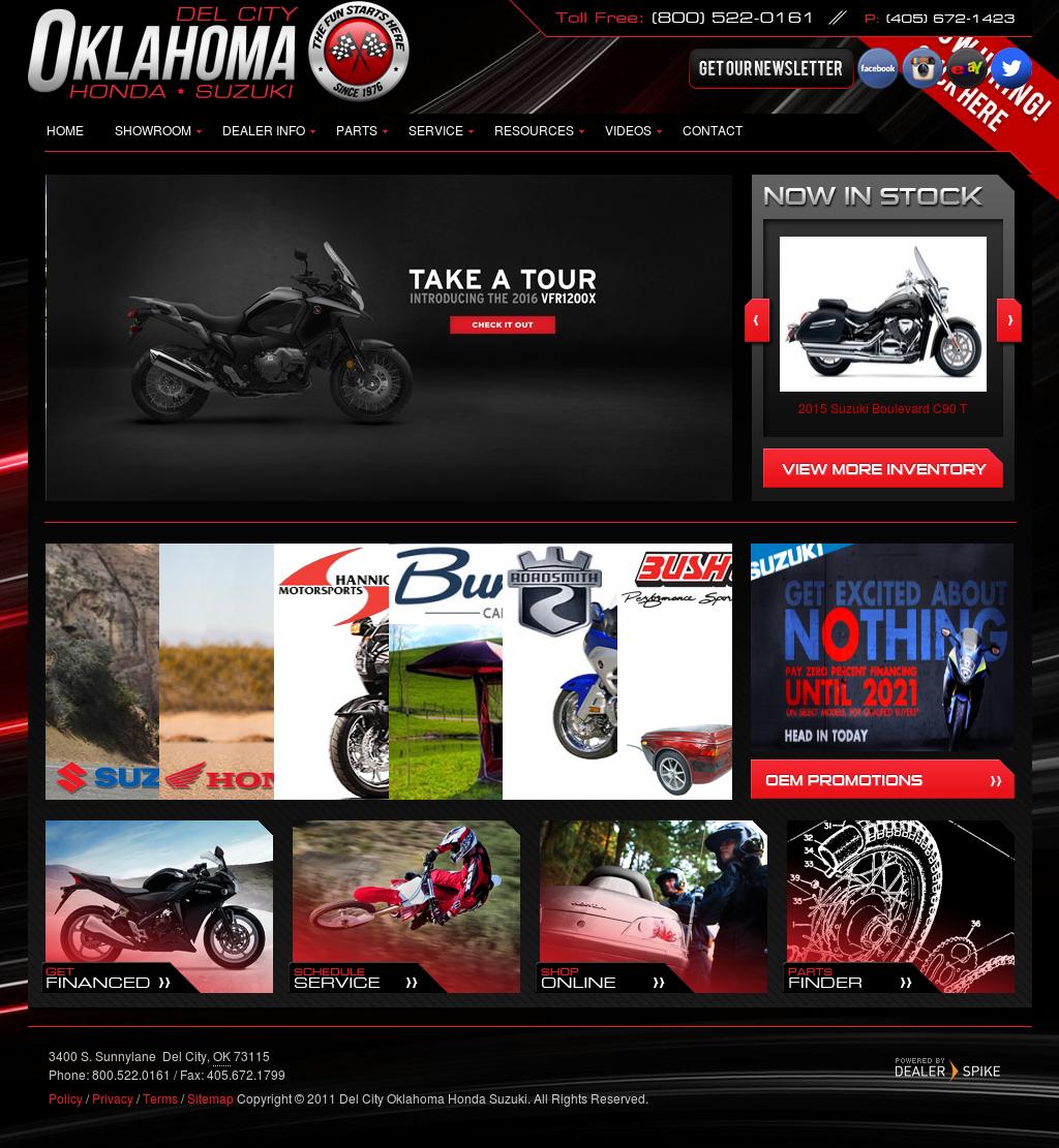Suzuki Dealer Okc >> Del City Oklahoma Honda Suzuki Competitors Revenue And