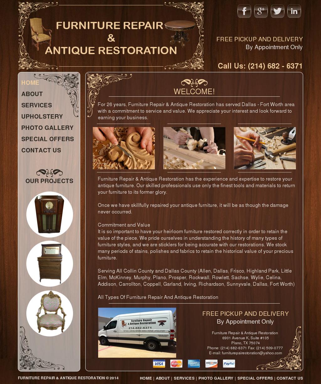 furniture repair & antique restoration competitors, revenue