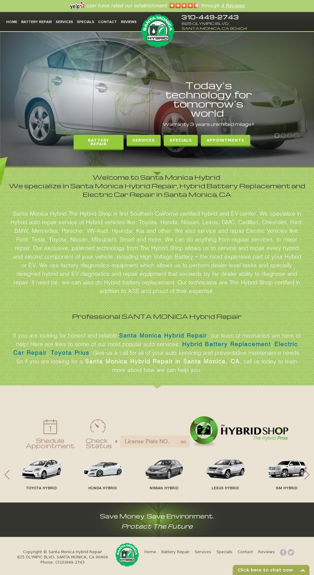 Santa Monica Hybrid Repair Compeors Revenue And Employees Owler Company Profile