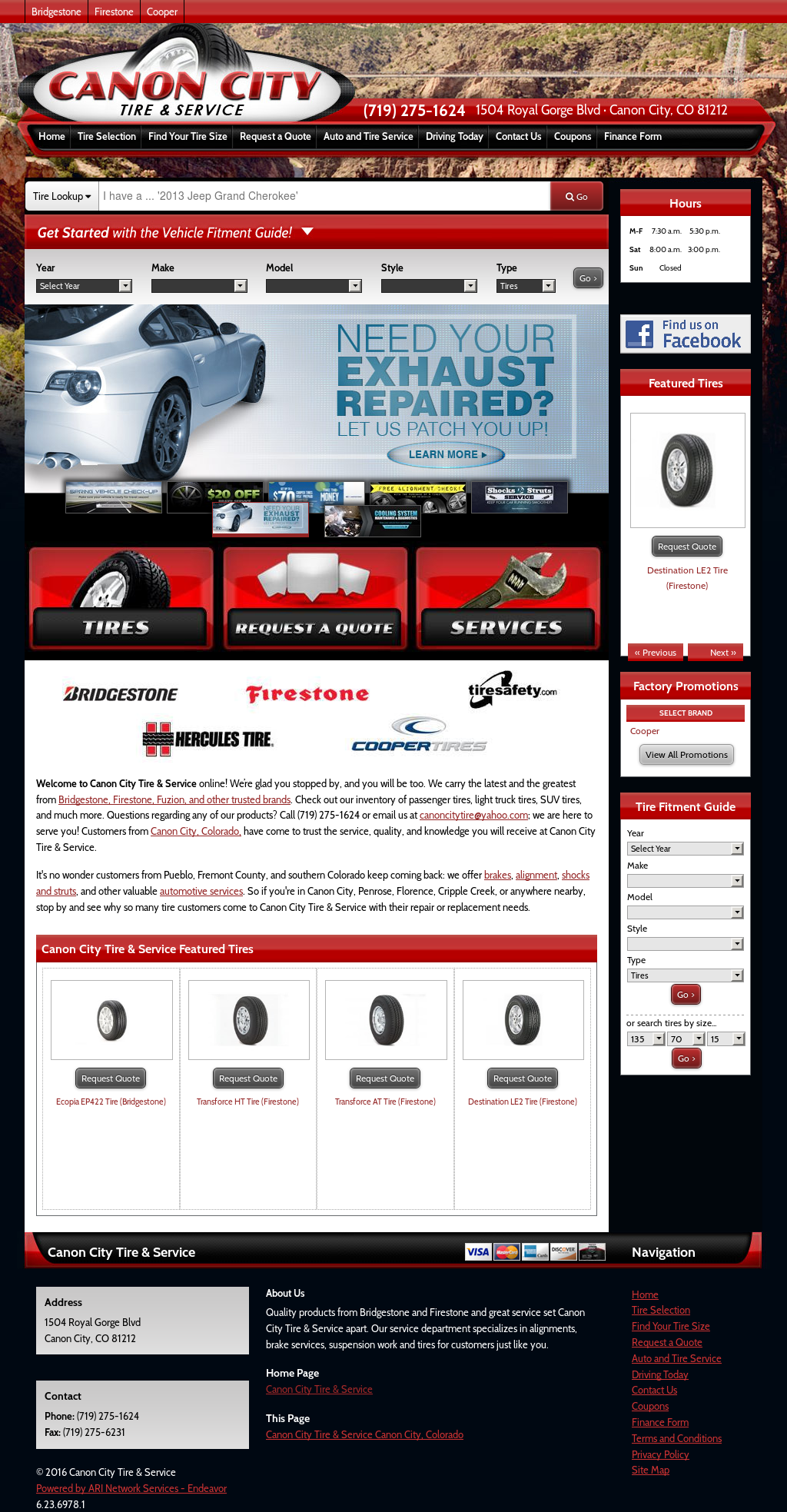 Canon City Tire Service Compeors Revenue And Employees Owler Company Profile