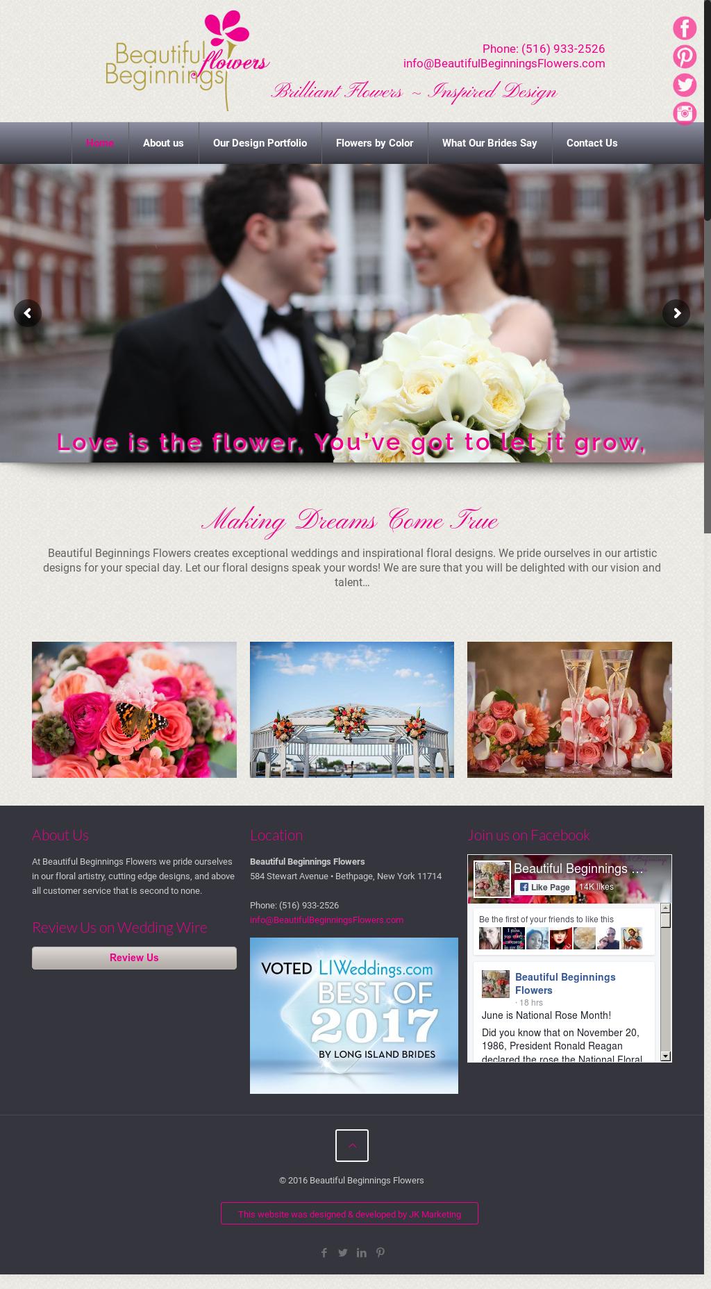 Beautiful beginnings flowers competitors revenue and employees beautiful beginnings flowers website history izmirmasajfo