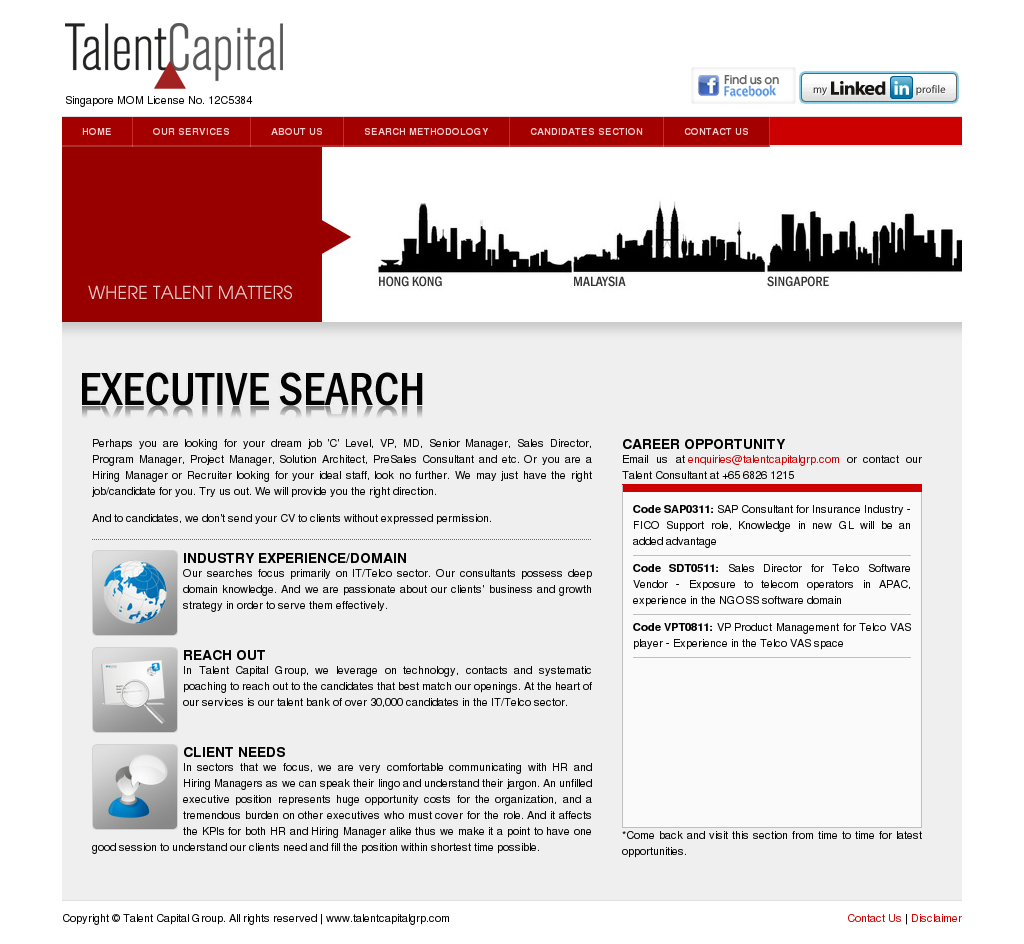 Talentcapitalgrp Competitors Revenue And Employees Owler Company Tricajuice Profile
